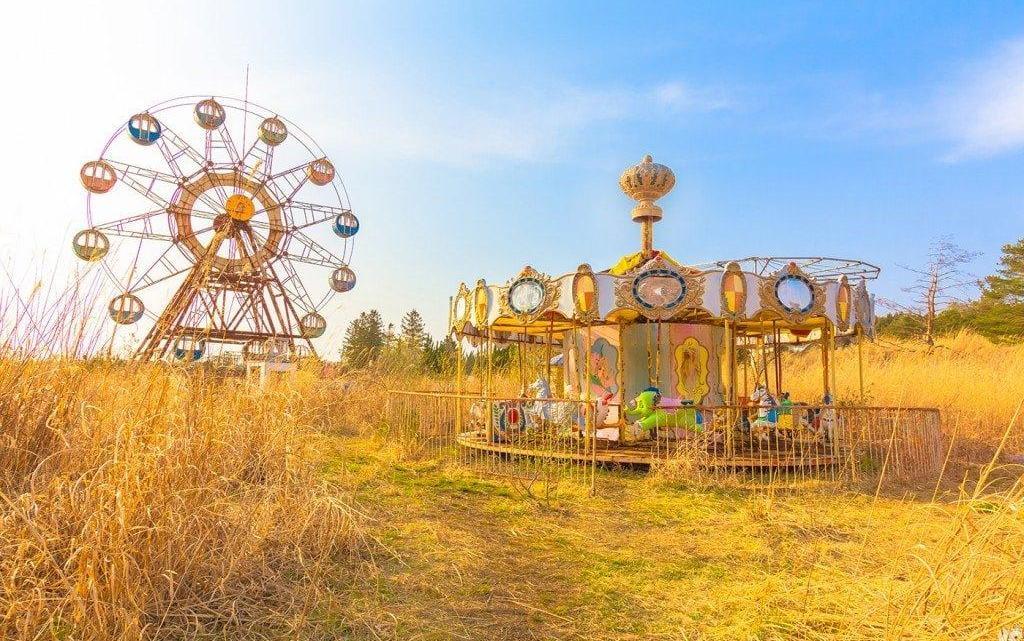 Kejonuma Leisure Land — заброшенный парк развлечений в Японии