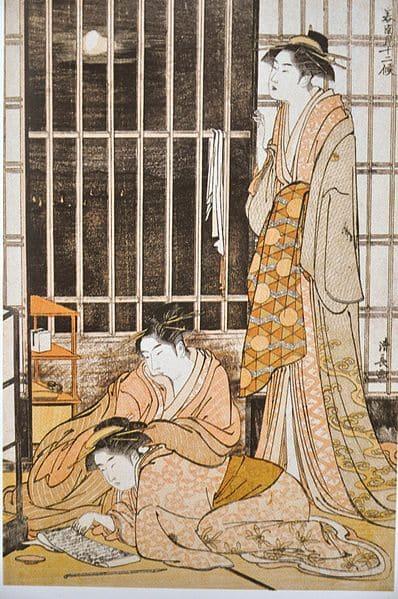 Угнетающая диета токийской проститутки в период Эдо (1603-1868)