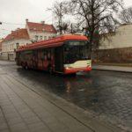 ヴィリニュスの路線バスと鉄道