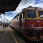 クロアチアからハンガリーへ鉄道(?)で移動