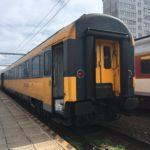 ポーランドからスロバキアへ鉄道で移動