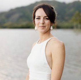 bridal portrait of laura