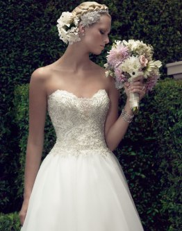 Casablanca princess ballgown wedding dress