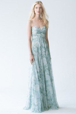 Jenny Yoo Bridesmaids, floral print, Masako Formals