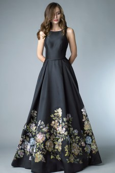 Basix Black Label black wedding dress