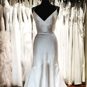 Two piece DYG wedding dress by Karen Willis Holmes