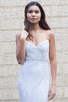 Karen Willis Holmes beaded sequin gown