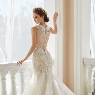 Low Lower And Lowest Back Wedding Dresses