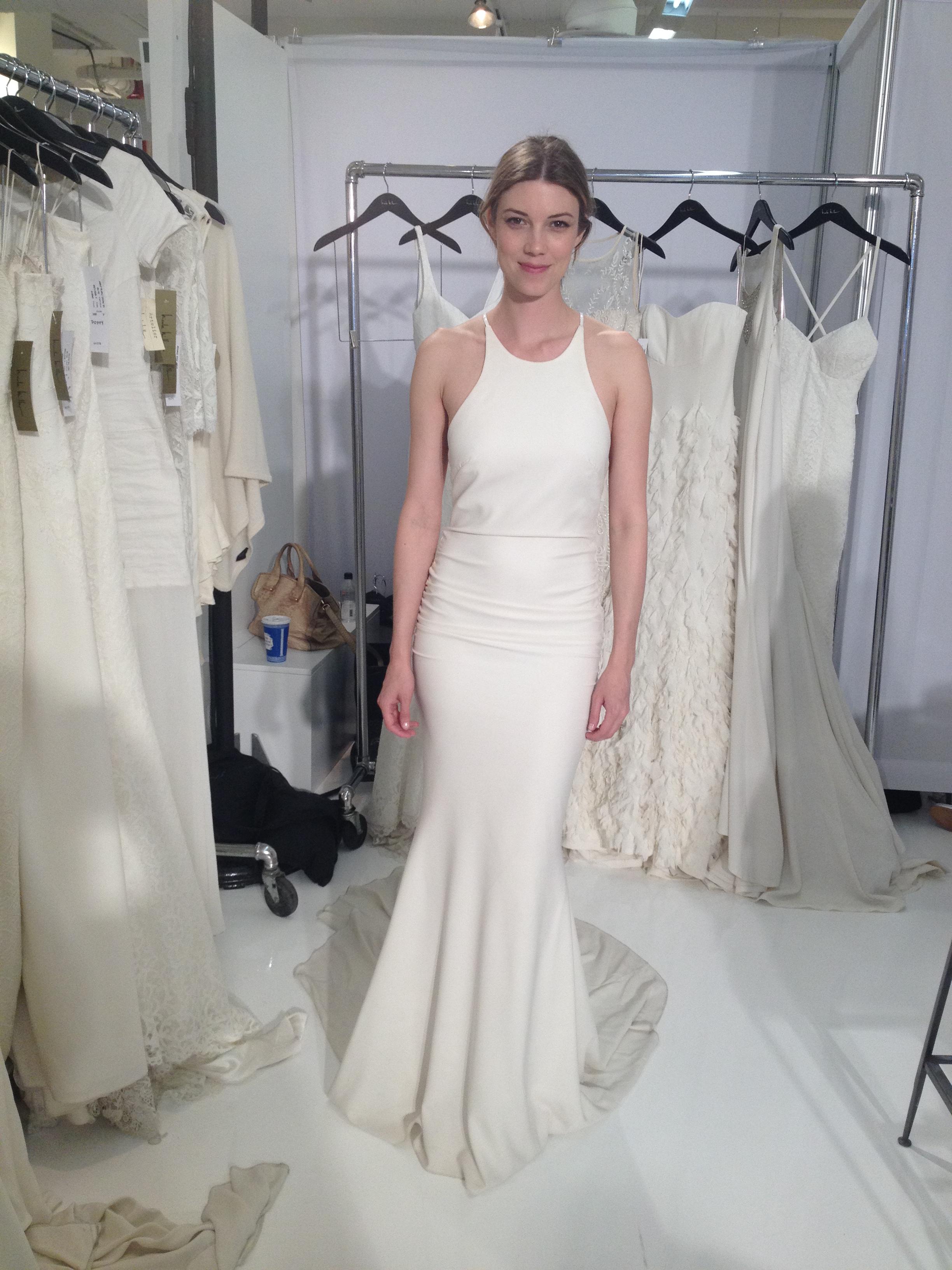 Nicole miller bridal at nyc bridal week masako formals hawaii img2551 junglespirit Choice Image