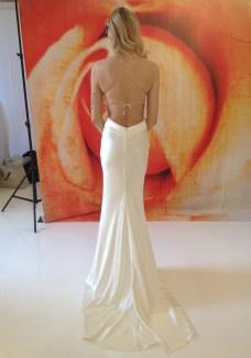 Palazzo by Jane White silk low back wedding dress