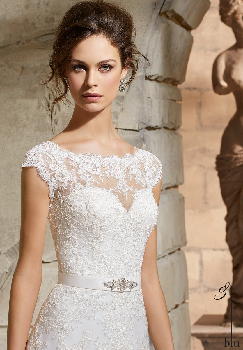 Tips for LDS Brides shopping for a dress that goes with the garment ...