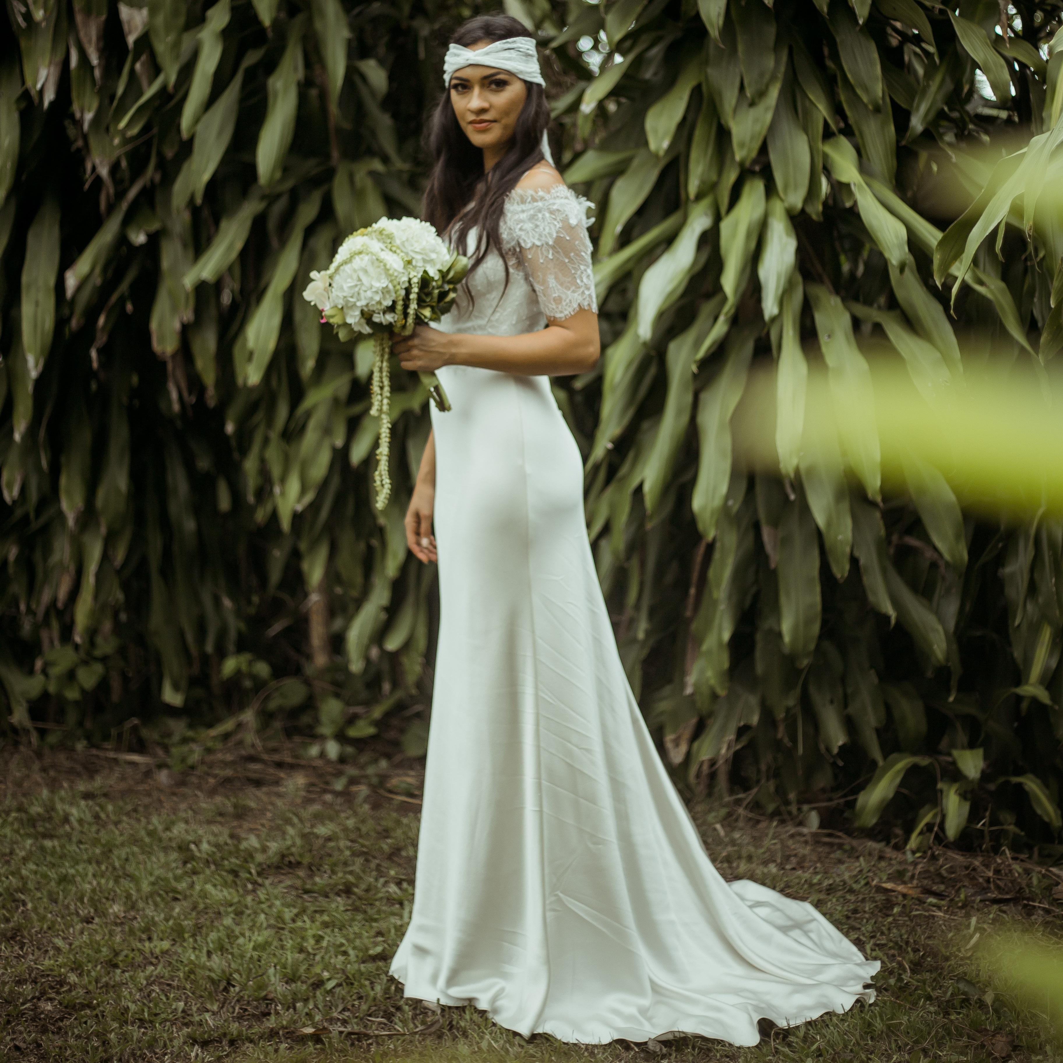 Masako Formals Hawaii Dressing Hawaiis Most Beautiful Brides