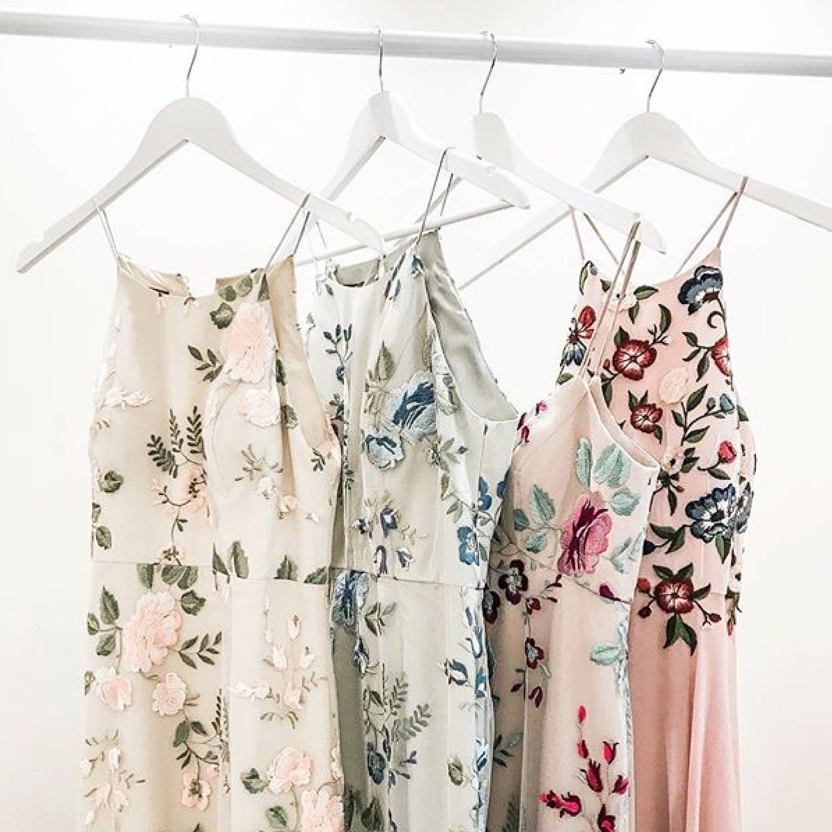 2018 floral rack Jenny Yoo