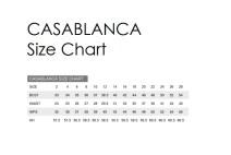 Casablanca size chart