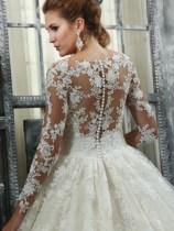 Victoria's Bridal 2240 sz8 IVY $1839 BACK (1)