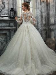 Victoria's Bridal 2240 sz8 IVY $1839 BACK (2)