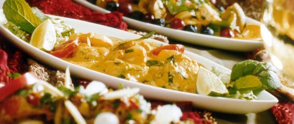 Lunch Menu Indian Vegetarian