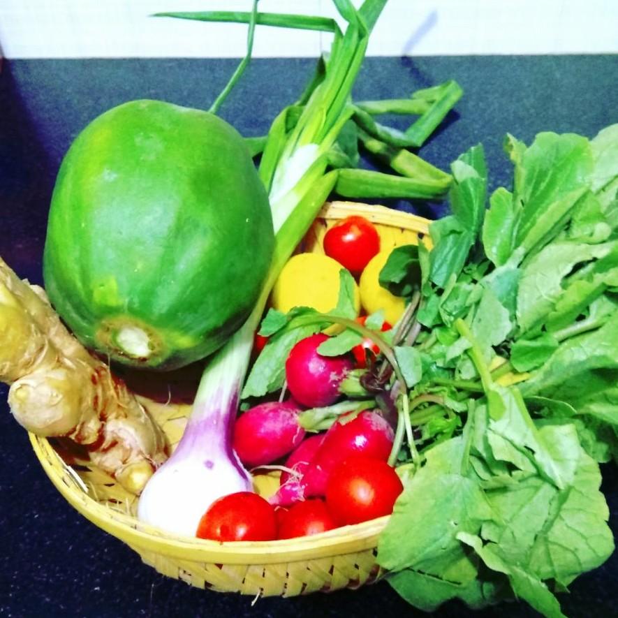 Som-Tam-veggies -prep