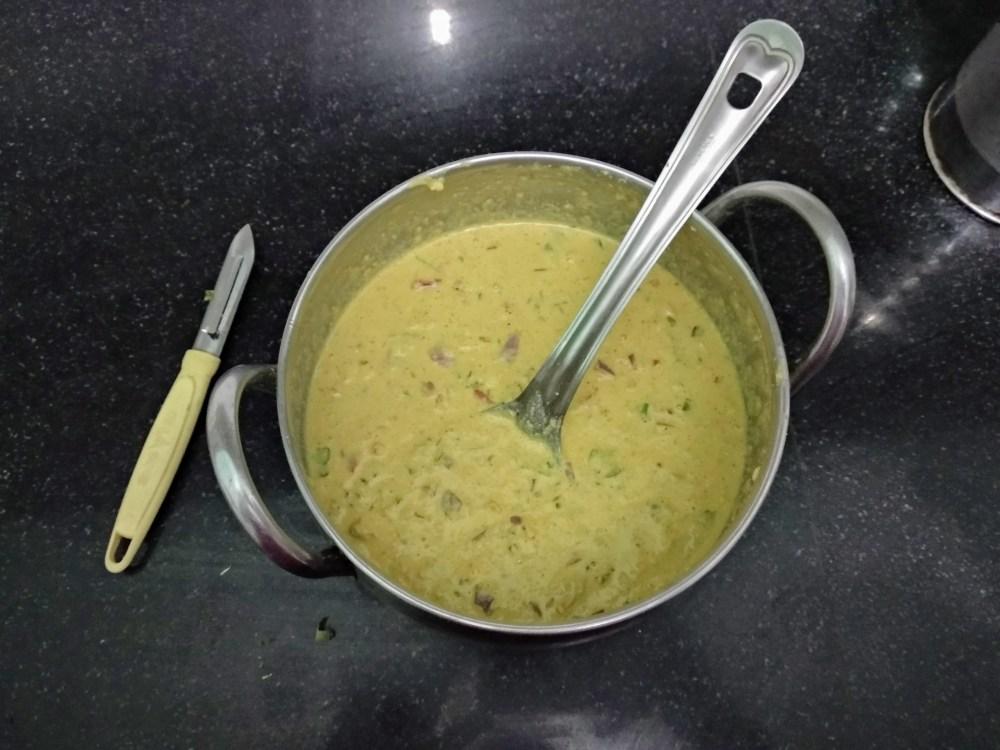 Besan-oats Crepe Batter