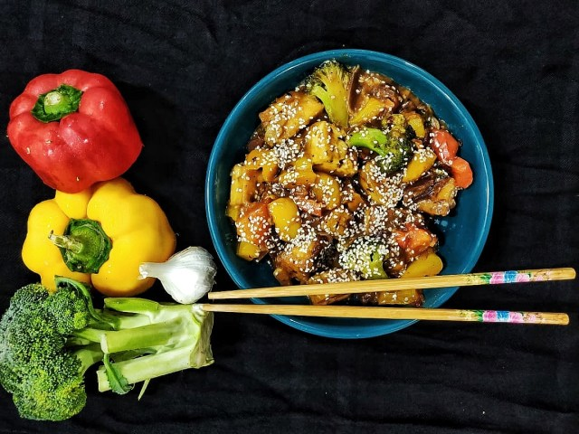 Honey-chilli-tofu