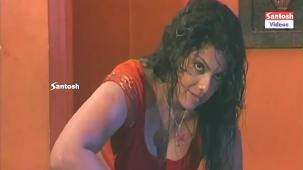 Swathi Varma getting wet in the rain - Nirmala Aunty movie hot scenes - YouTube[(001178)18-32-06]
