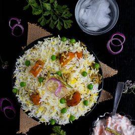 Vegan food - Biriyani