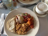 Mexican inspired brunch at Curbside Cafe in SF.