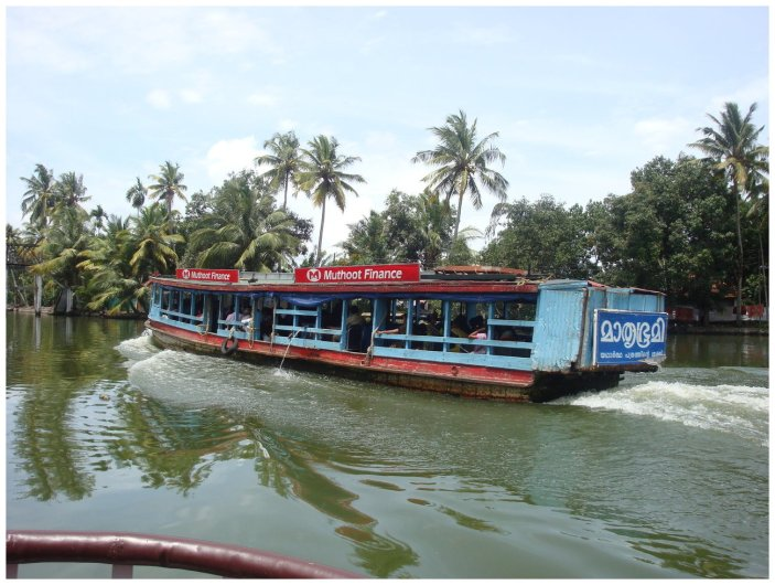 The public transport of Alleppey