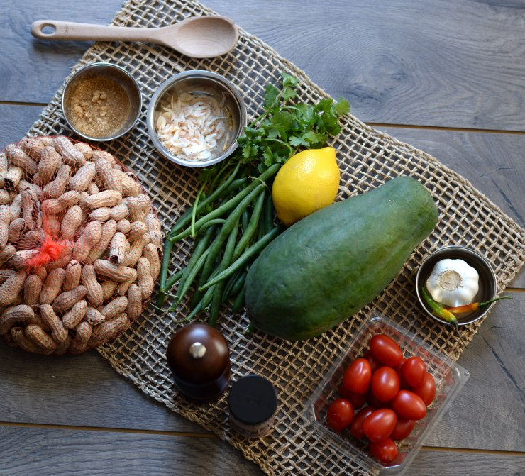 green-papaya-salad-ingredients