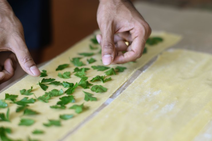 parsley-laminated-pasta-yummy