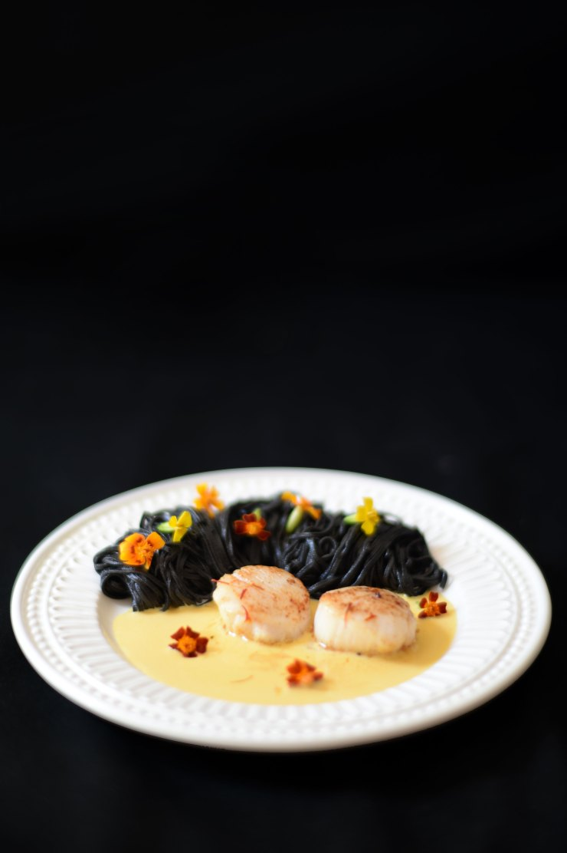 squid-ink-pasta-scallops