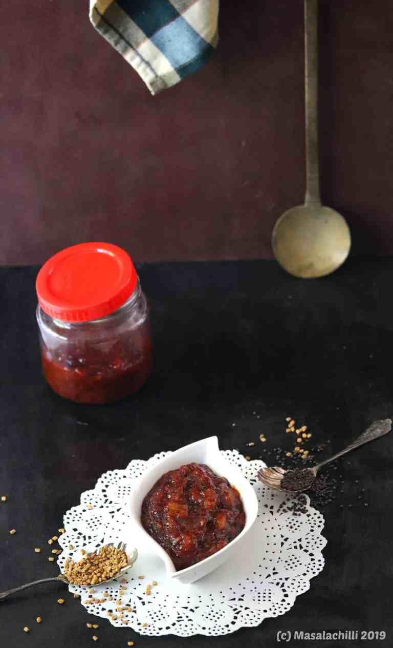 Methamba a Sweet Relish from Maharashtra