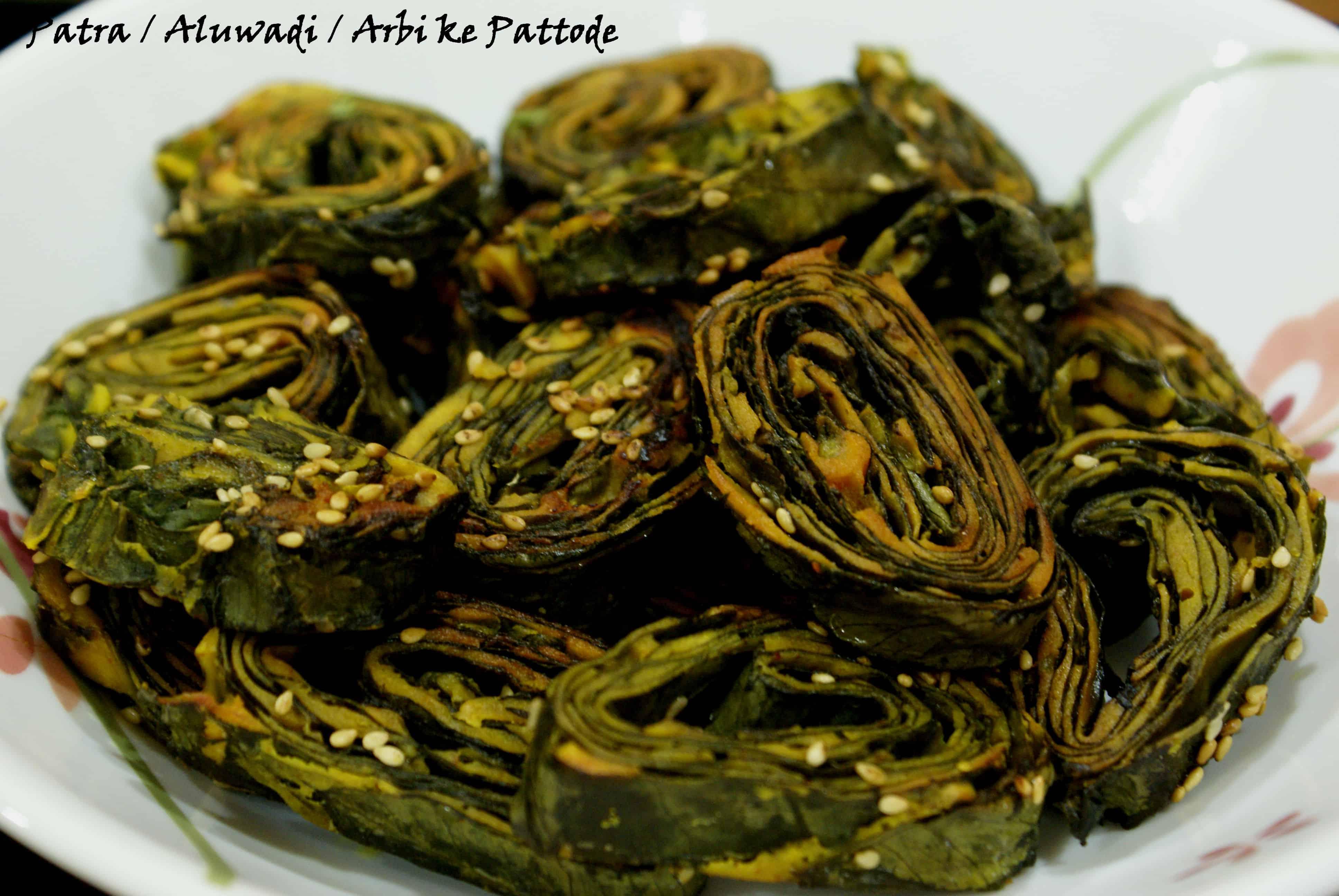 Patra / Alu Wadi / Arbi Ke Patode