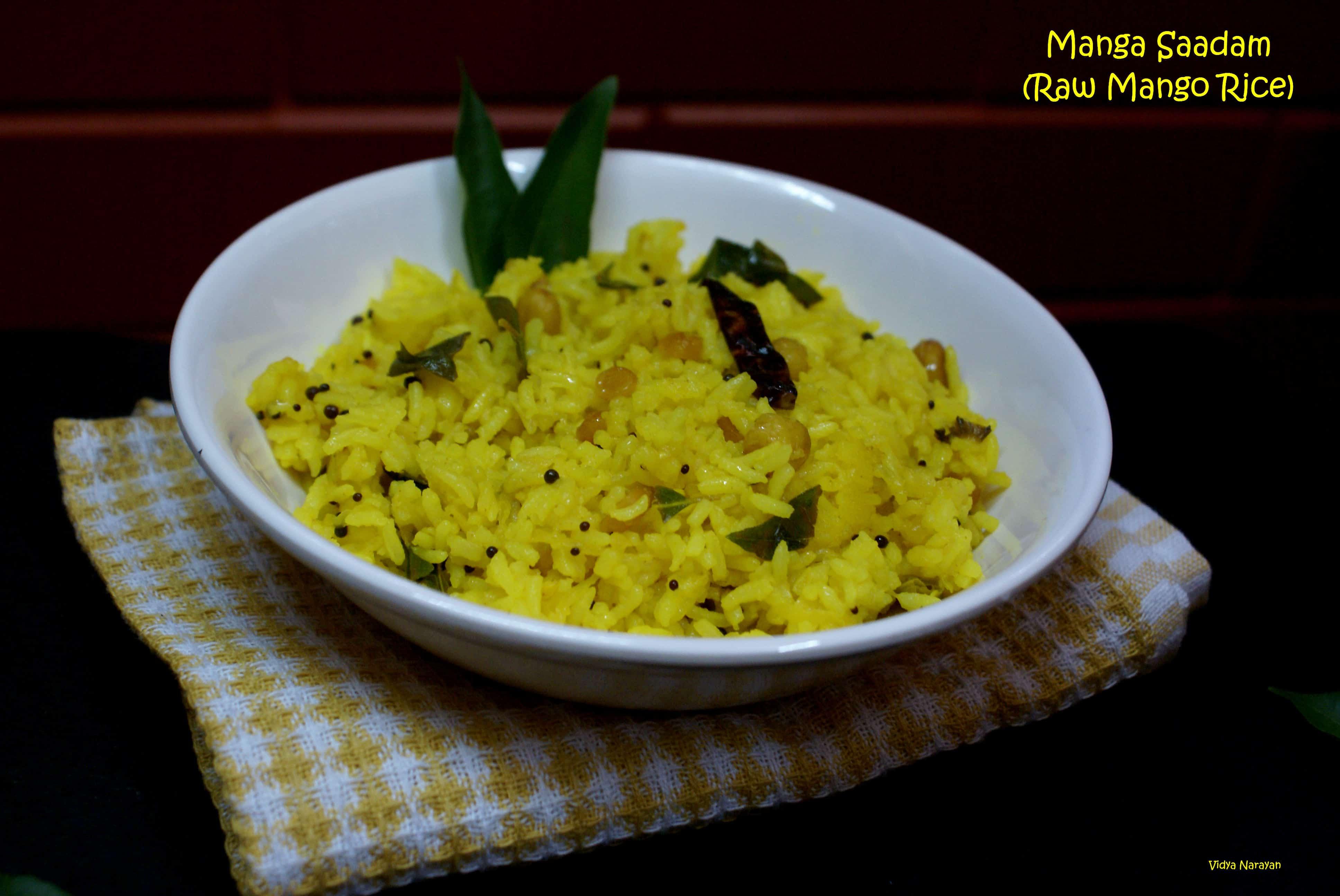 Manga Sadam / Raw Mango Rice