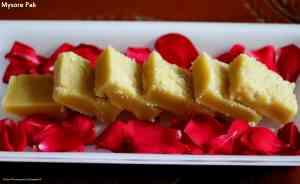 Mysore Pak (Shree Krishna Sweets Style Mysore Pak)