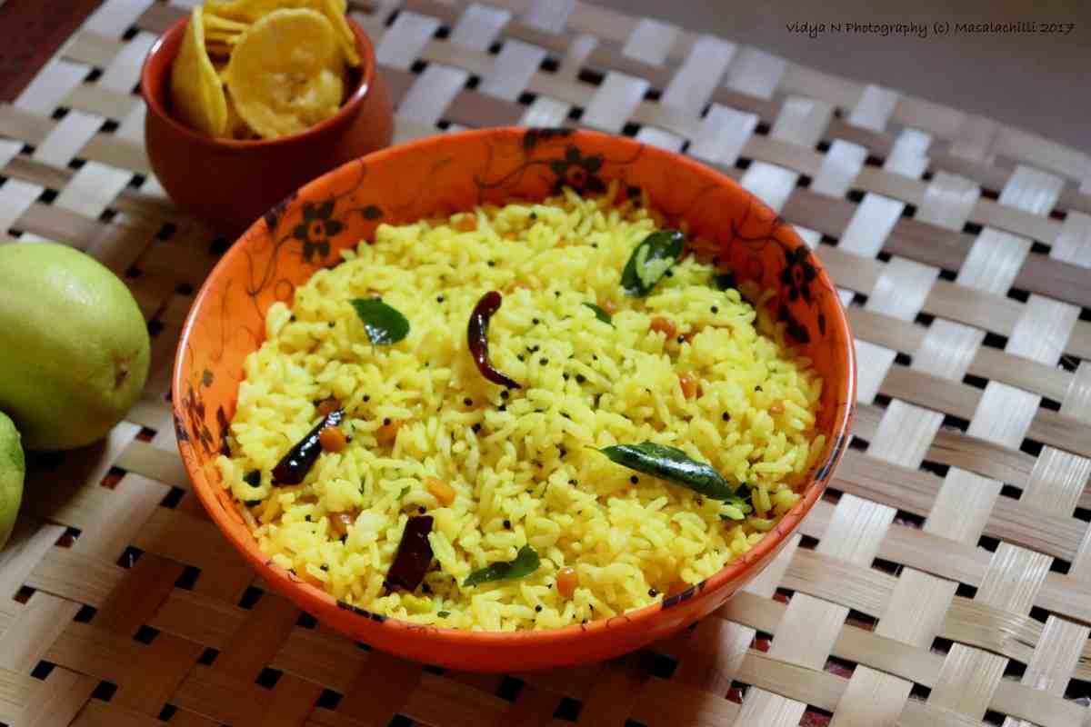 Lemon Rice / Variety Rice / Kalavai Sadam