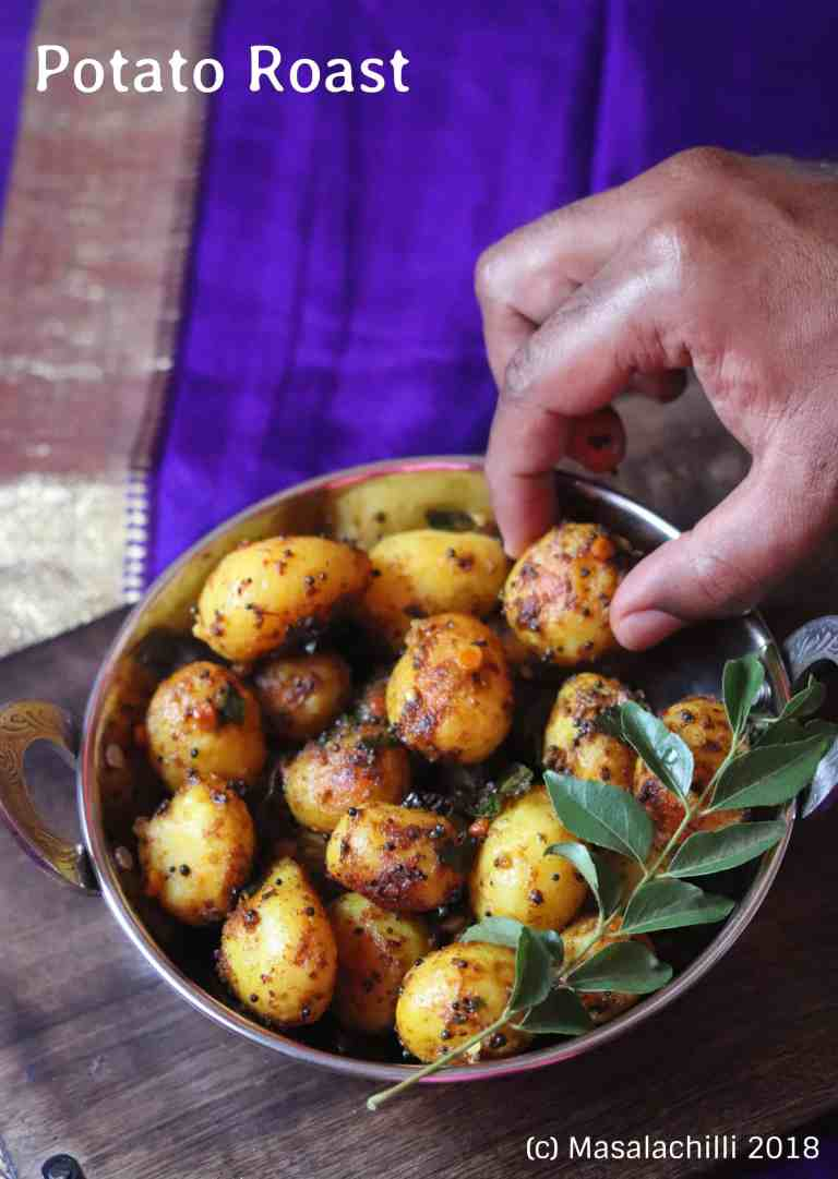 Potato Roast / Aloo Roast