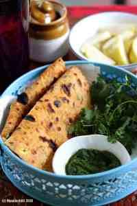 Safed Matar ka Paratha / White Peas Paratha Recipe