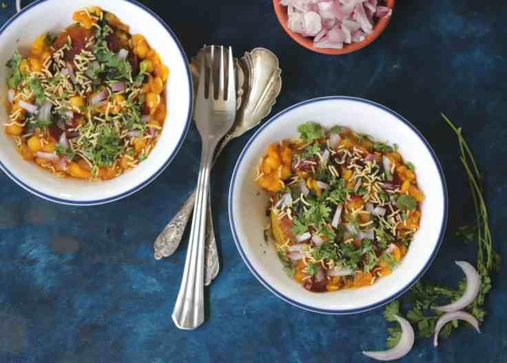 How to make Ragda Pattice Chaat at home