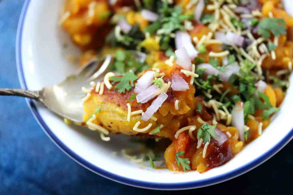 How to Make Ragda Pattice at home