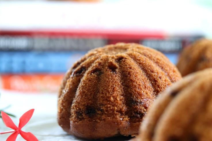 Eggless chocolate chip muffin recipe