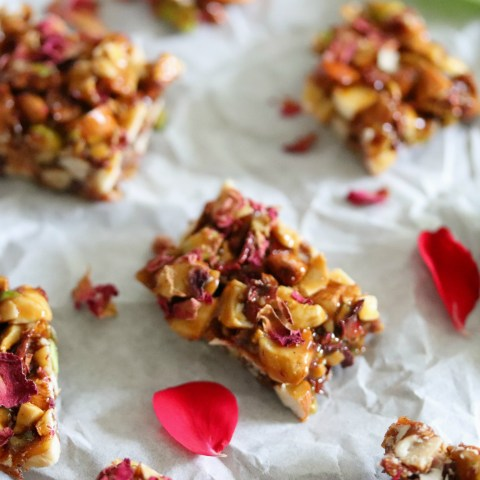 Rose Dry fruit chikki