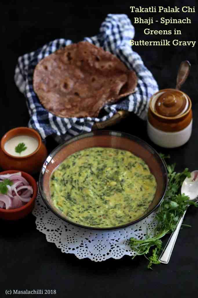Takatli Palak chi Bhaji