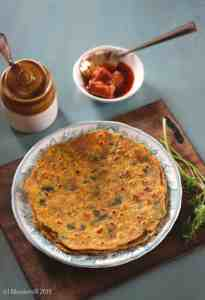 Methi Missi Roti Recipe