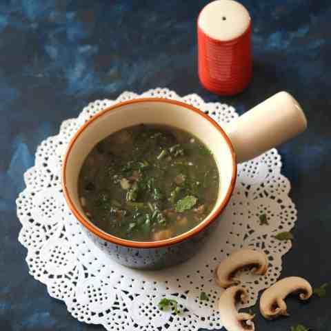Meghalaya Mushroom Soup Recipe