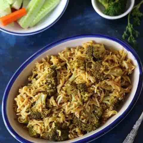 Easy One Pot Broccoli Rice Recipe