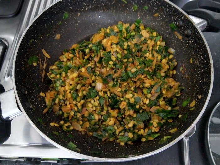 Cook the mung beans