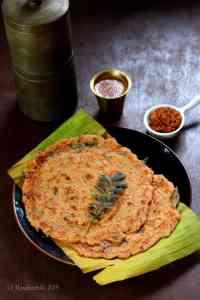 Adai Dosa / South Indian Mixed Lentils Dosa