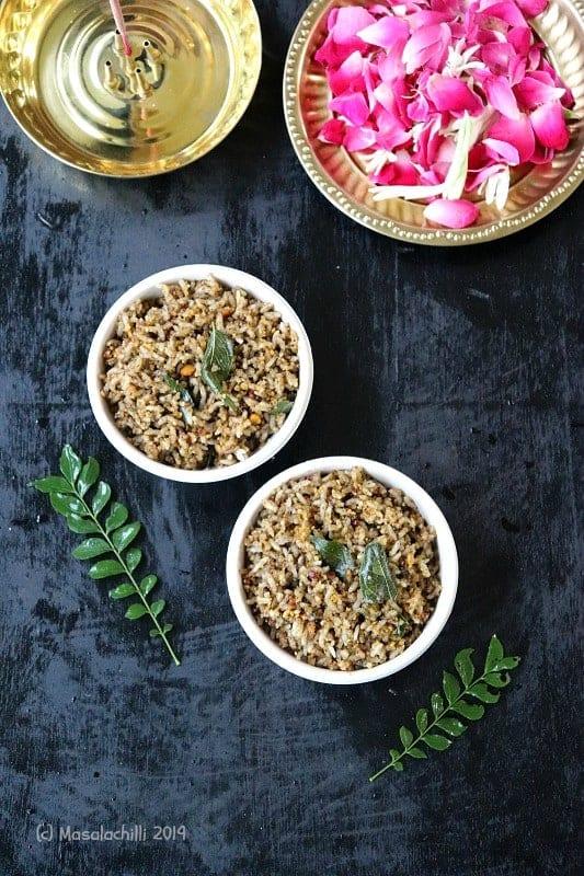 Ellu Sadam / South Indian Sesame Rice