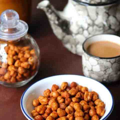 Crunchy Roasted Chickpeas in Airfryer